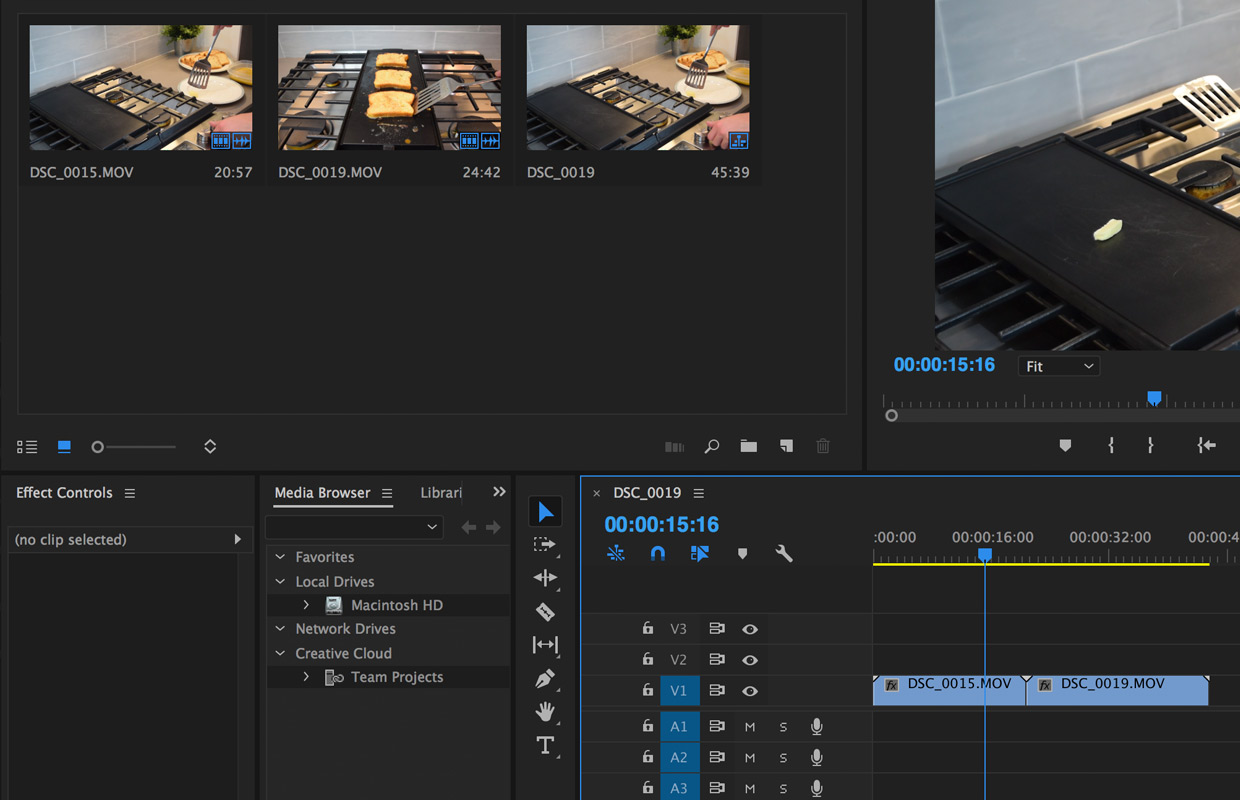 removing audio from video files in premiere pro cc