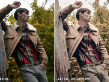 Autumn Day - Mark Binks Outdoor Fashion Lightroom Presets - FilterGrade