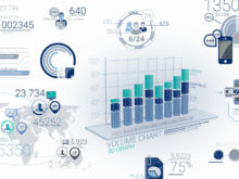 animated 3d business charts after effects