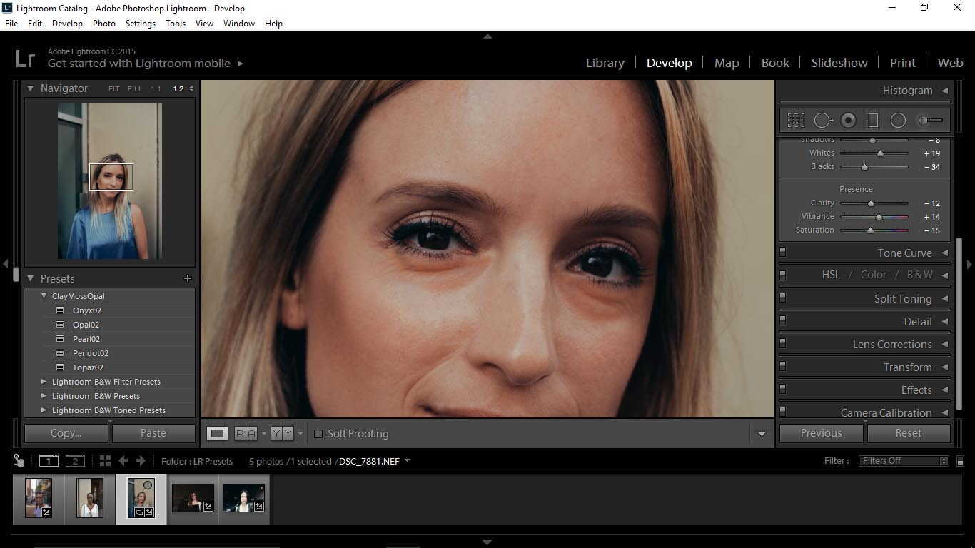 14 Editing Portraits Using Unique Lightroom Presets - FilterGrade Blog