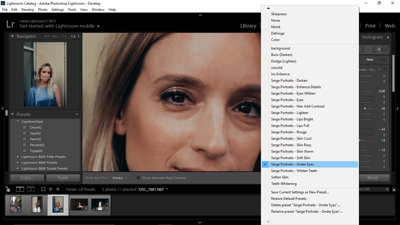 13 Editing Portraits Using Unique Lightroom Presets - FilterGrade Blog