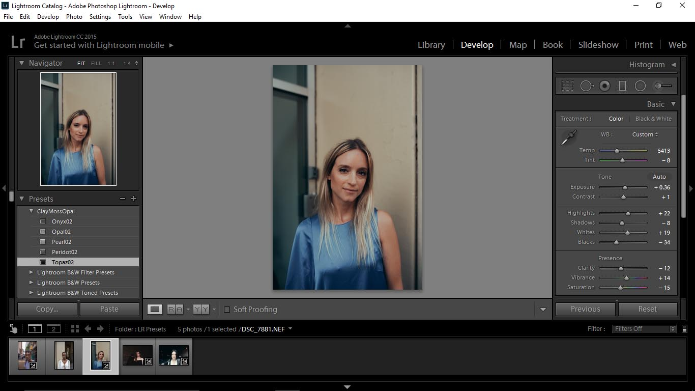 8 Editing Portraits Using Unique Lightroom Presets - FilterGrade Blog