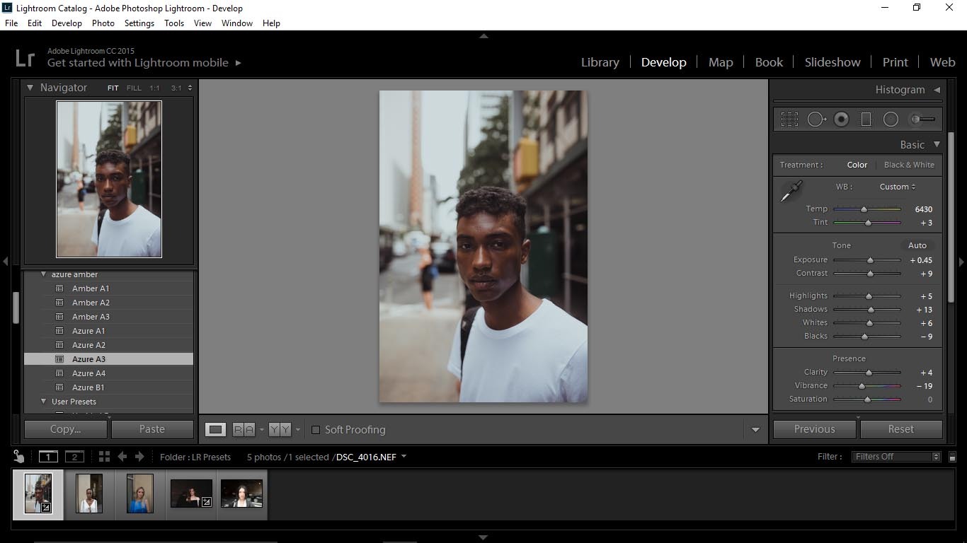 6 Editing Portraits Using Unique Lightroom Presets - FilterGrade Blog