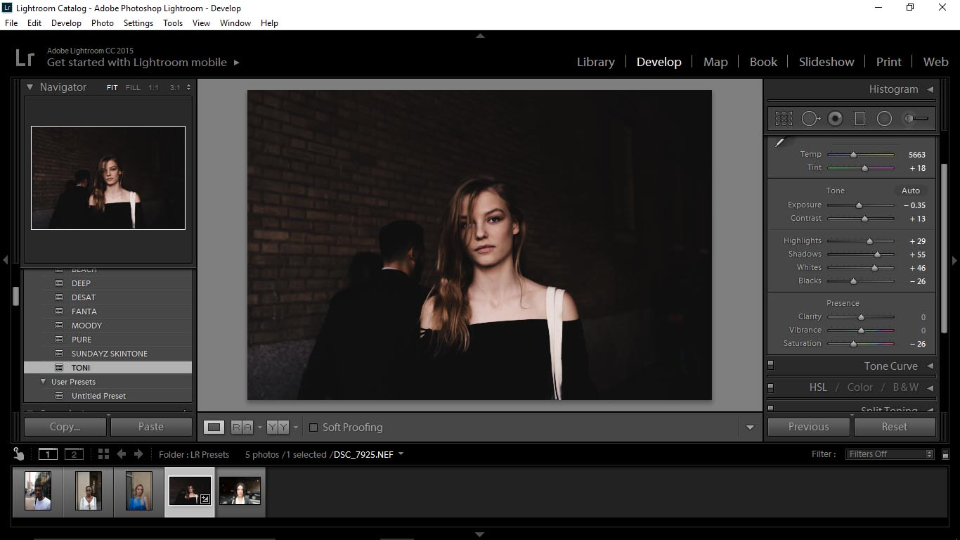 3 Editing Portraits Using Unique Lightroom Presets - FilterGrade Blog