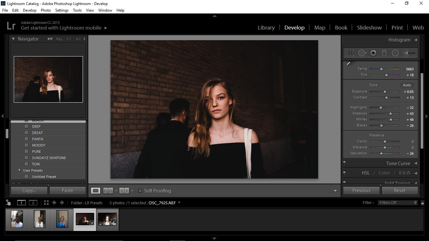 2 Editing Portraits Using Unique Lightroom Presets - FilterGrade Blog
