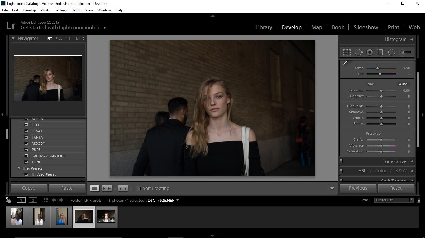 Editing Portraits Using Unique Lightroom Presets - FilterGrade Blog
