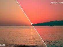 Sunrise - Iustina Dumitrescu Lightroom Presets - FilterGrade