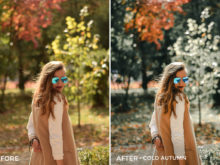 Cold Autumn - Iustina Dumitrescu Lightroom Presets - FilterGrade
