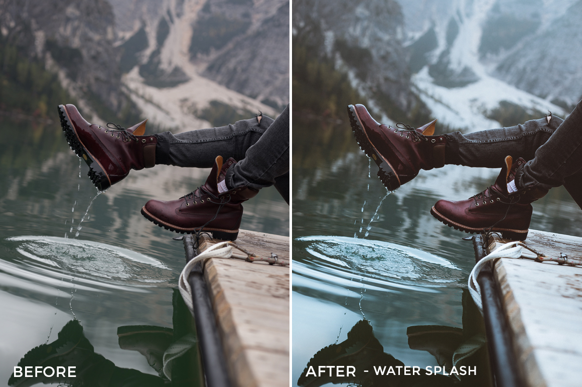 Water Splash - Dmitry Shukin Lightroom Presets - FilterGrade