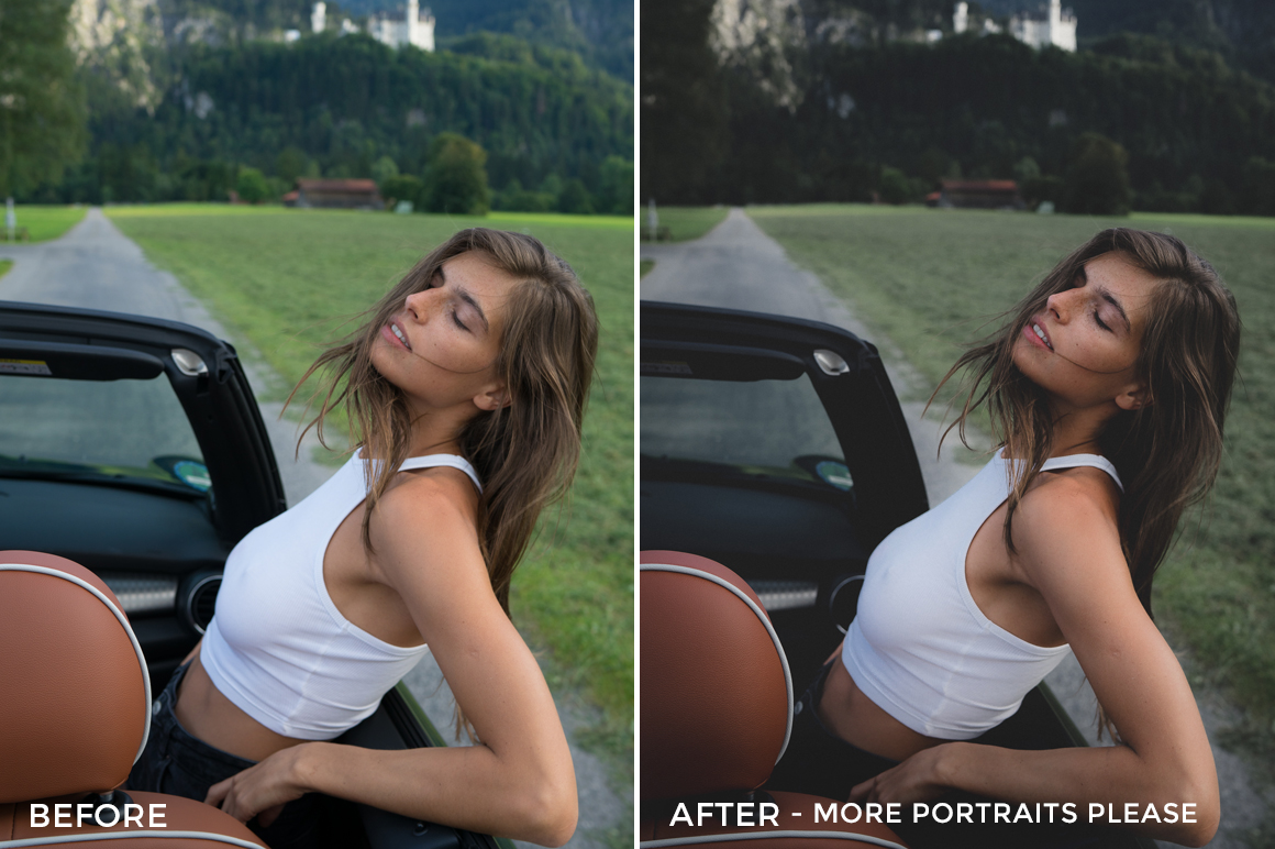 More Portraits Please - Dmitry Shukin Lightroom Presets - FilterGrade