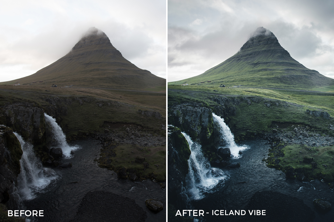 Iceland Vibe - Dmitry Shukin Lightroom Presets - FilterGrade