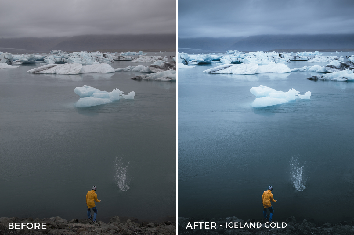 Iceland Cold - Dmitry Shukin Lightroom Presets - FilterGrade
