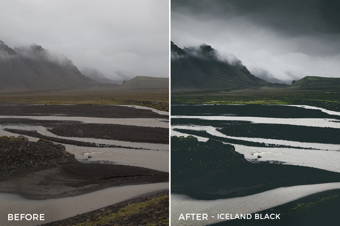 Iceland Black - Dmitry Shukin Lightroom Presets - FilterGrade