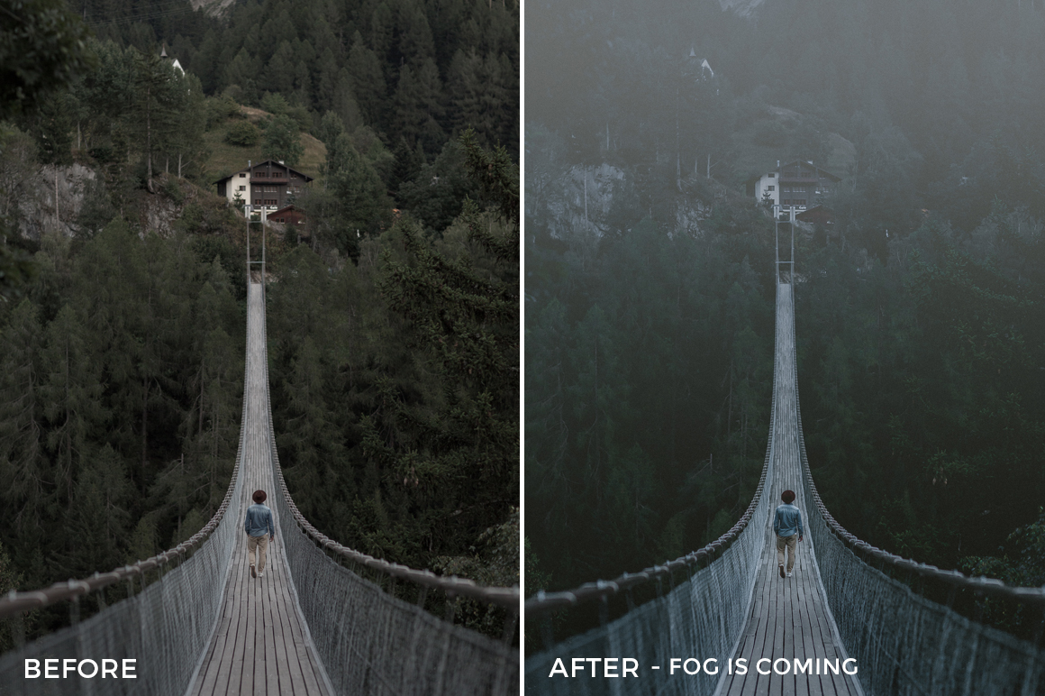 Fog is Coming - Dmitry Shukin Lightroom Presets - FilterGrade