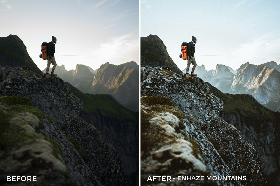 Enhaze Mountains - Dmitry Shukin Lightroom Presets - FilterGrade