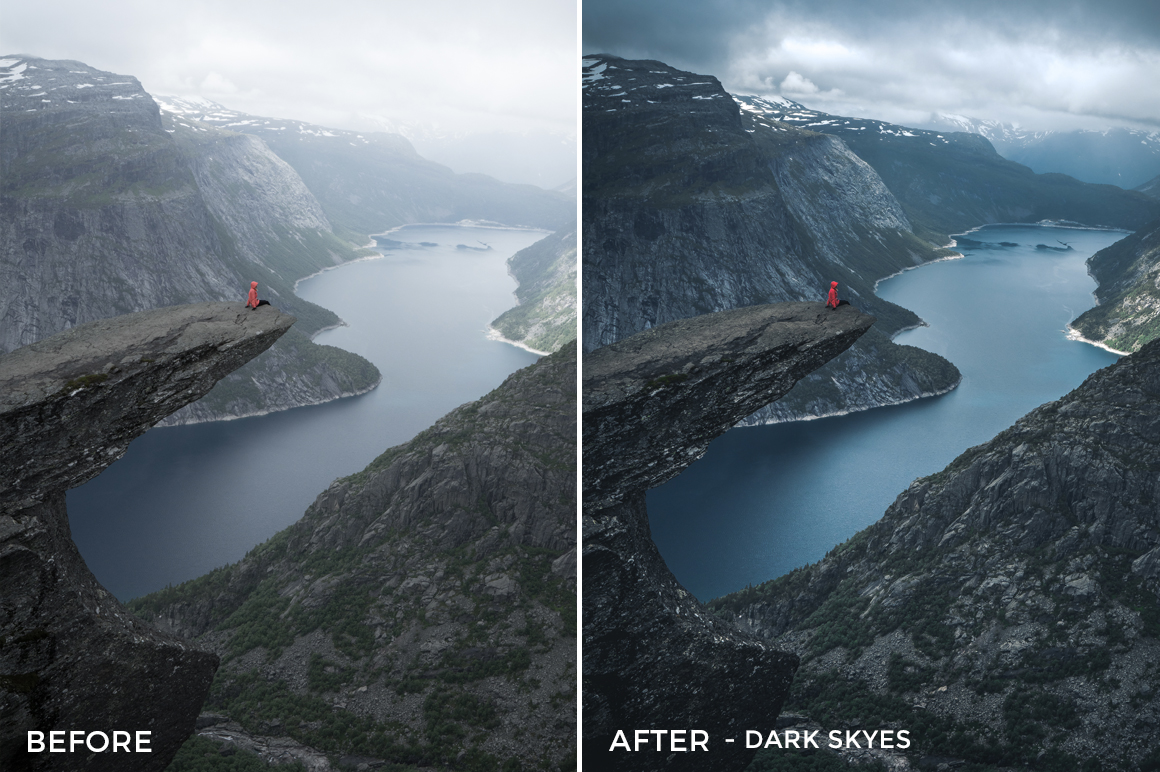 Dark Skyes - Dmitry Shukin Lightroom Presets - FilterGrade