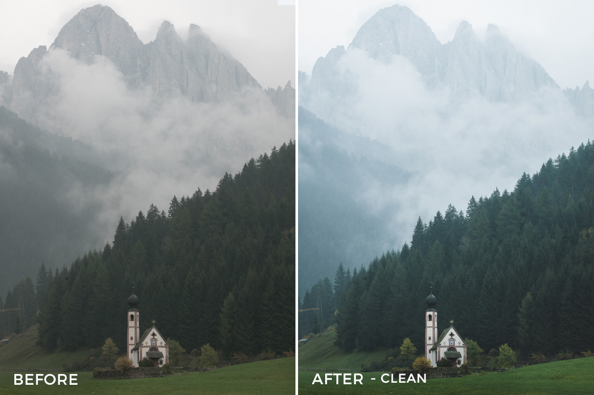 Clean - Dmitry Shukin Lightroom Presets - FilterGrade
