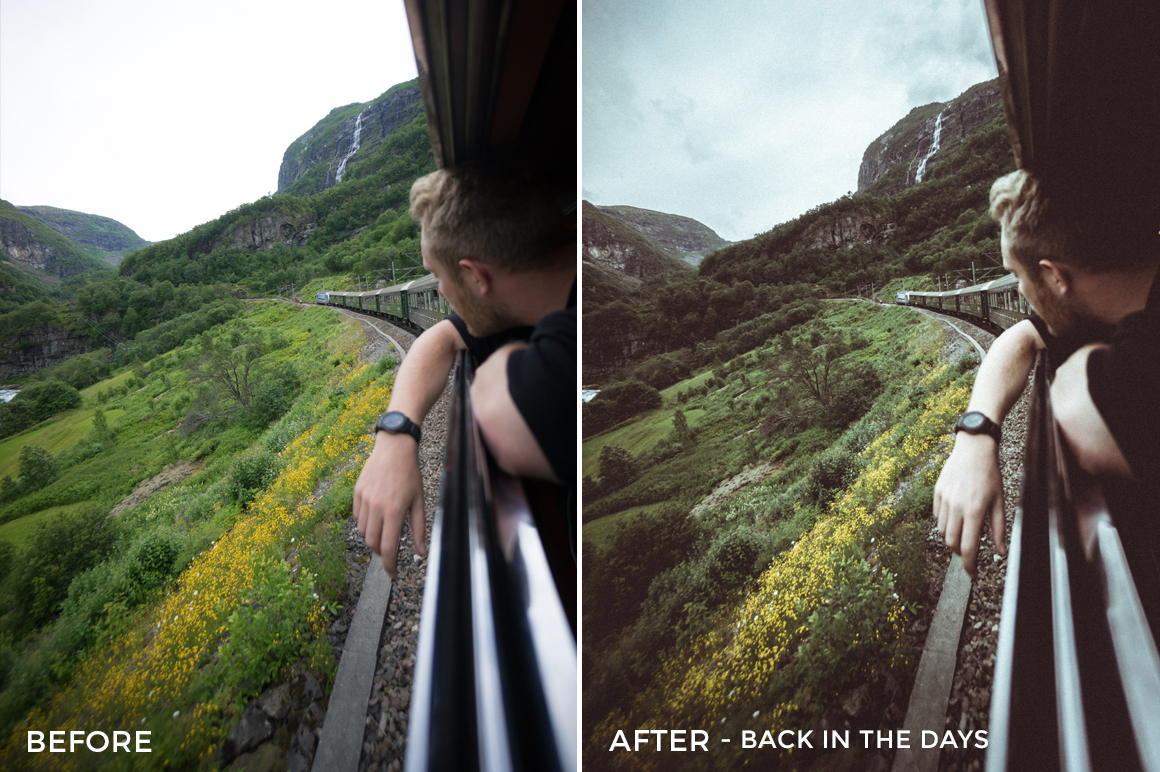 Back in the Days Dmitry Shukin Lightroom Presets - FilterGrade