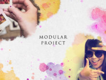 modular project after effects template files
