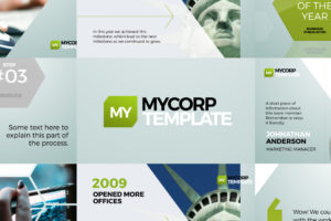 MyCorp Business Promo Template for Adobe After Effects