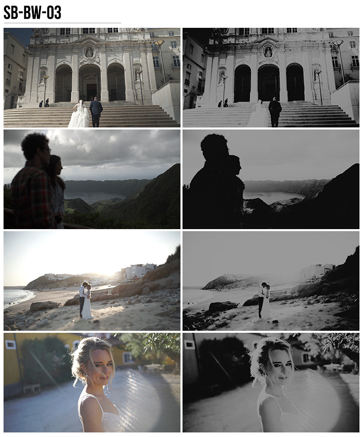 12 Vanessa & Ivo's Wedding LUTs - SB Pack - FilterGrade