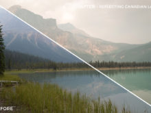 Reflecting Canadian Lake - Niklas Nxploring Lightroom Presets - FilterGrade