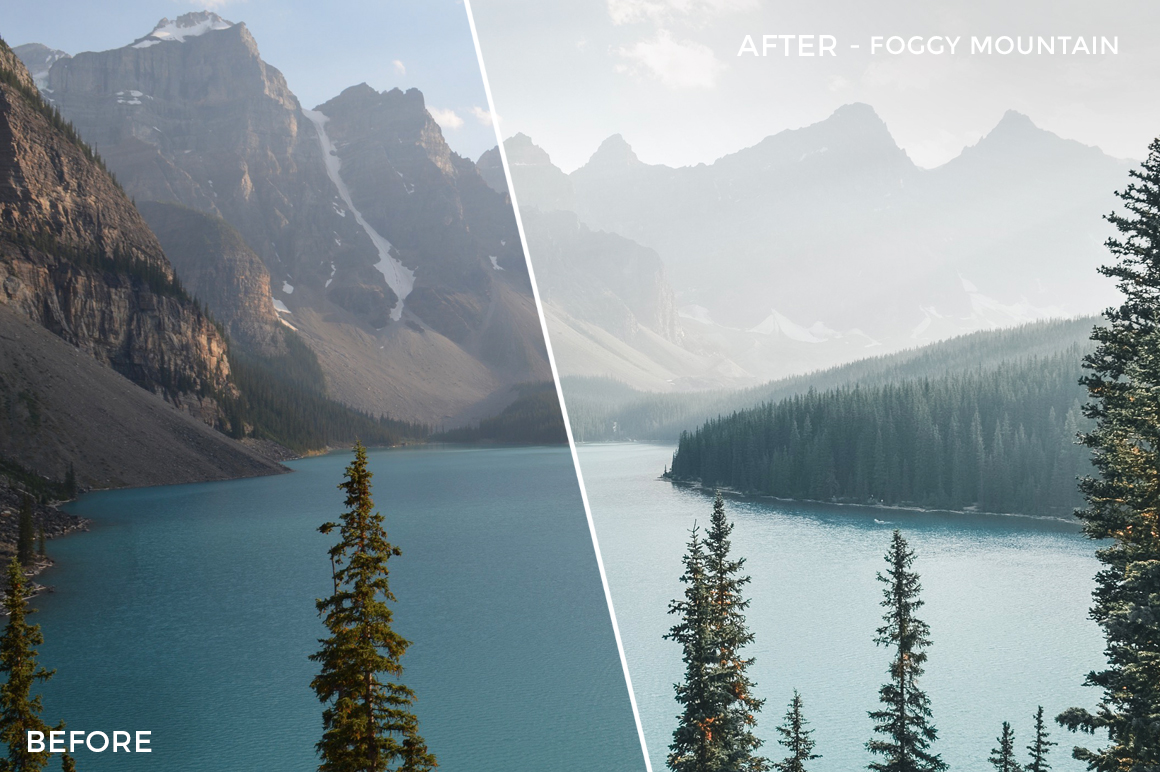 Foggy Mountain - Niklas Nxploring Lightroom Presets - FilterGrade