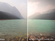 Colorful Alpine Lake - Niklas Nxploring Lightroom Presets - FilterGrade