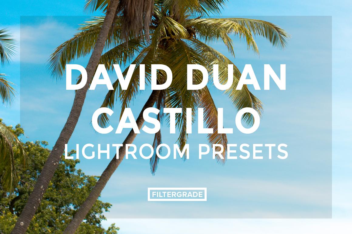 FEATURED David Duan Castillo Lightroom Presets - FilterGrade