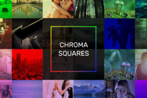 Chroma Squares Slideshow Template for Adobe After Effects