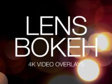 Lens Bokeh 4K Video Overlays