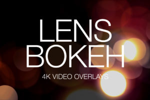 Lens Bokeh 4K Video Overlays