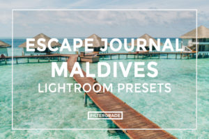 featured - Escape Journal Maldives Lightroom Presets - FilterGrade
