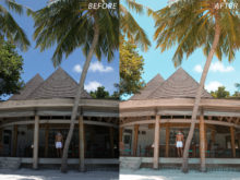 6 Escape Journal Maldives Lightroom Presets - FilterGrade
