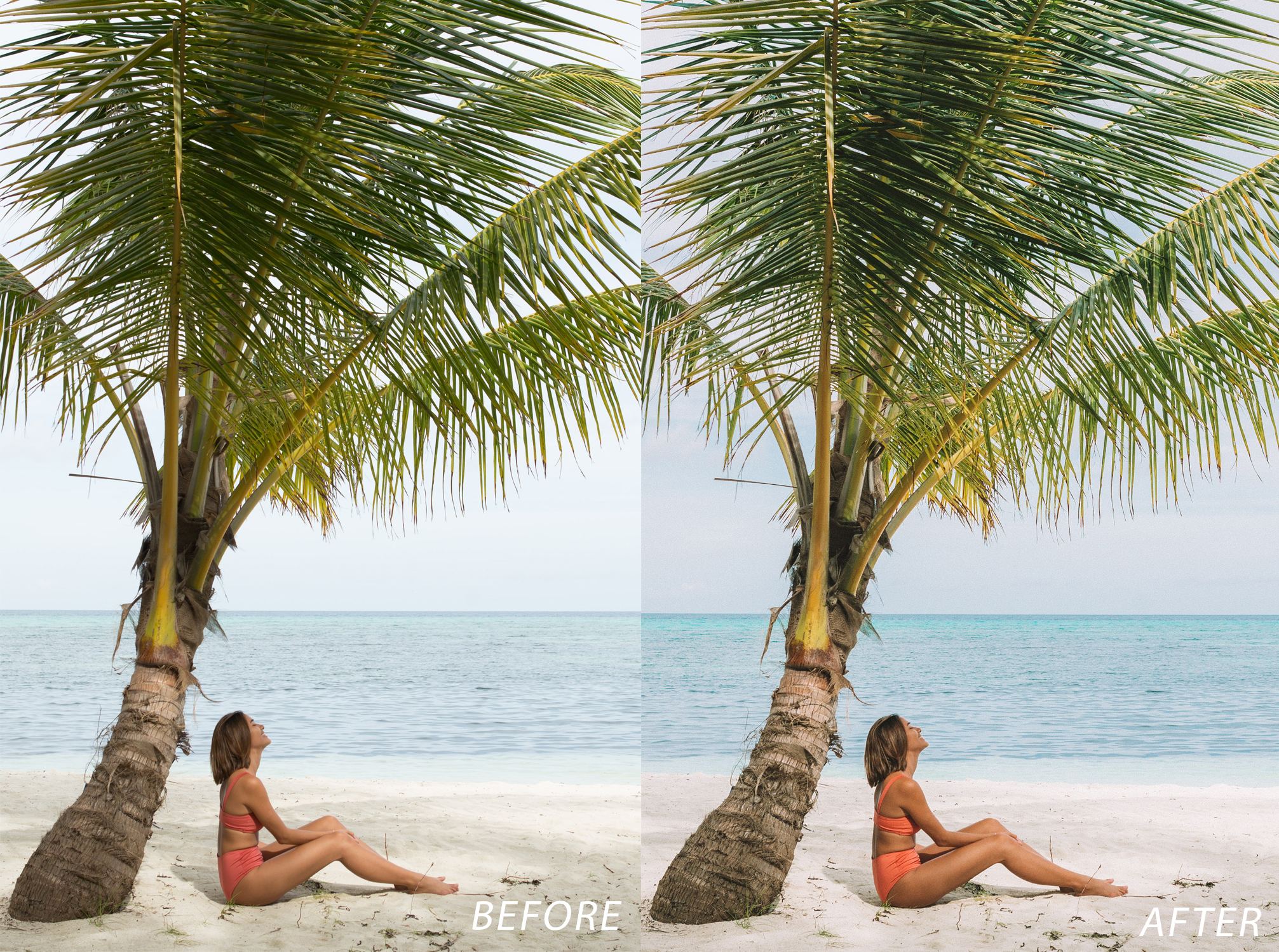 3 Escape Journal Maldives Lightroom Presets - FilterGrade