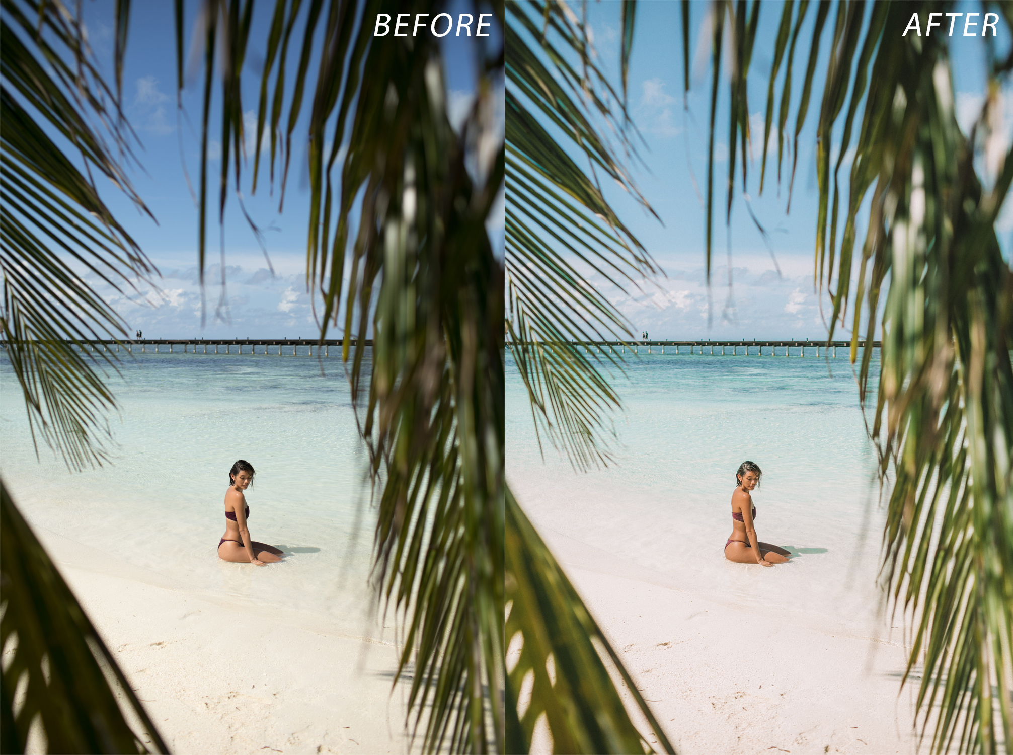 Escape Journal Maldives Lightroom Presets - FilterGrade