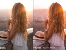 8 Pastel Rose - Kim Rose Lightroom Presets - FilterGrade