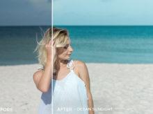 3 Ocean Sunlight - Sweet Teal Blog Lightroom Presets - FilterGrade