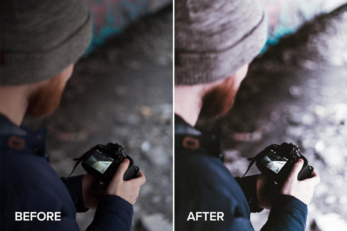 tonal portrait lightroom preset