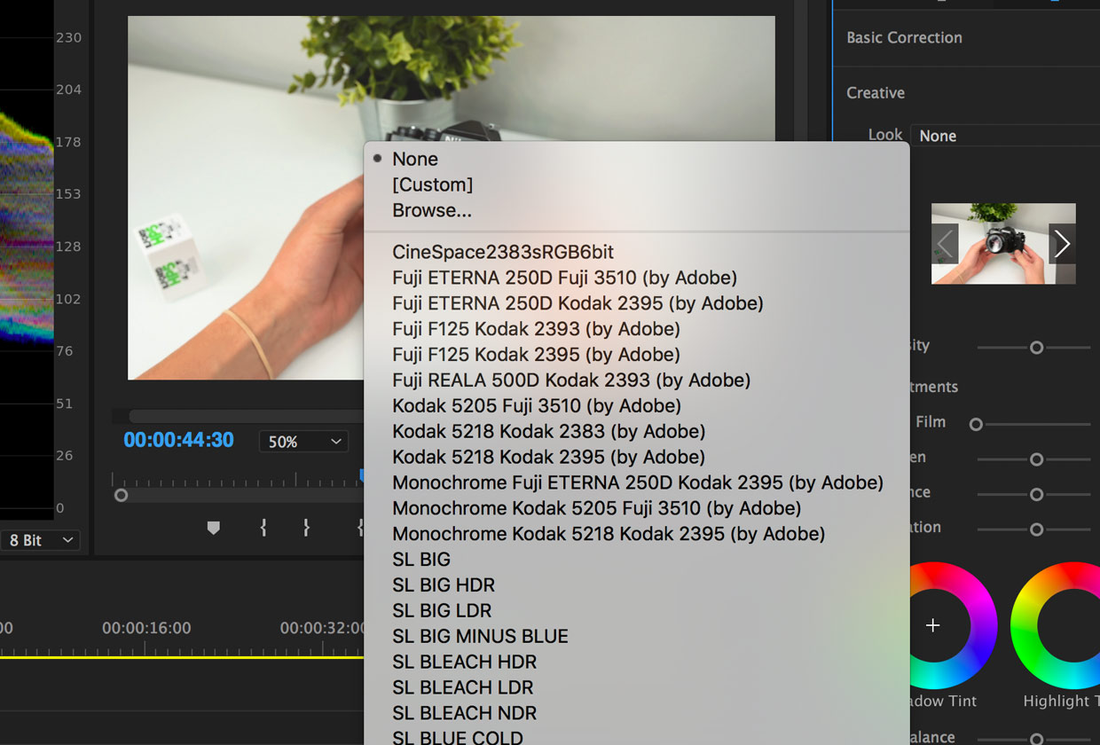 How to Install and Use LUTs in Premiere Pro - FilterGrade