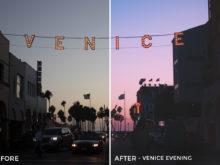 Venice Evening - Stephanie Saias Lightroom Presets - FilterGrade