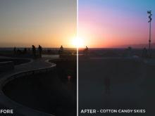 Cotton Candy Skies - Stephanie Saias Lightroom Presets - FilterGrade