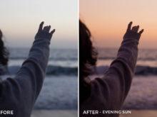 Evening Sun - Stephanie Saias Lightroom Presets - FilterGrade
