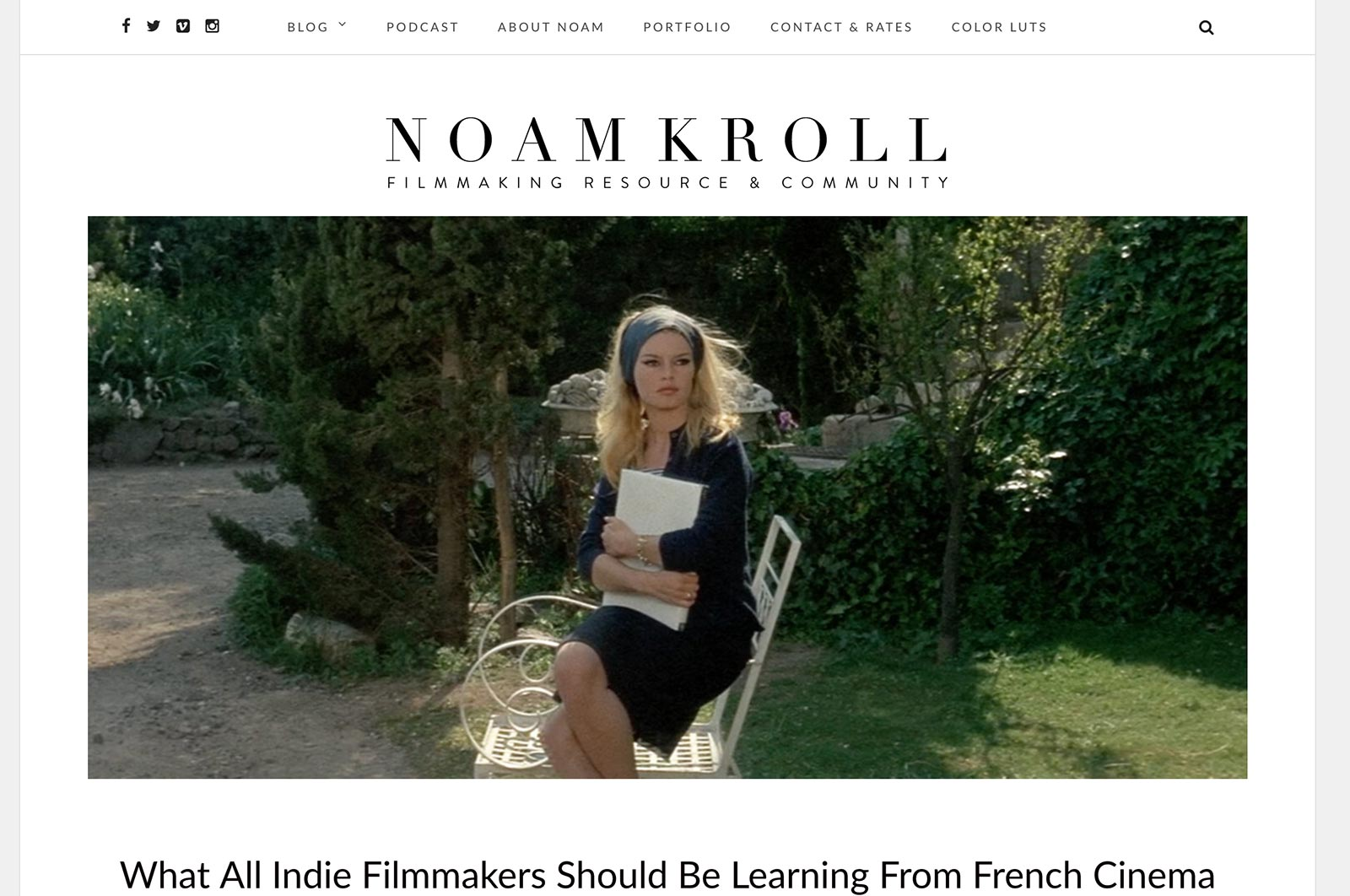 noam kroll film and color grading blog
