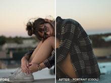 Portrait (Cool) - Simplctyy Lightroom Presets - FilterGrade
