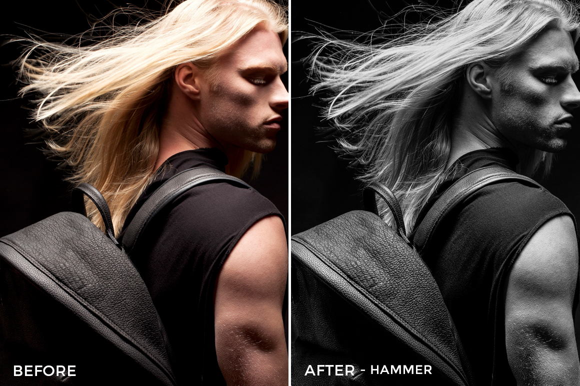 hammer - Editorial Series-B+W-Capture One Styles-FilterGrade