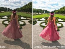 Green Garden Princess- Chiara Marie Lightroom Presets - Chiara Steck - FilterGrade