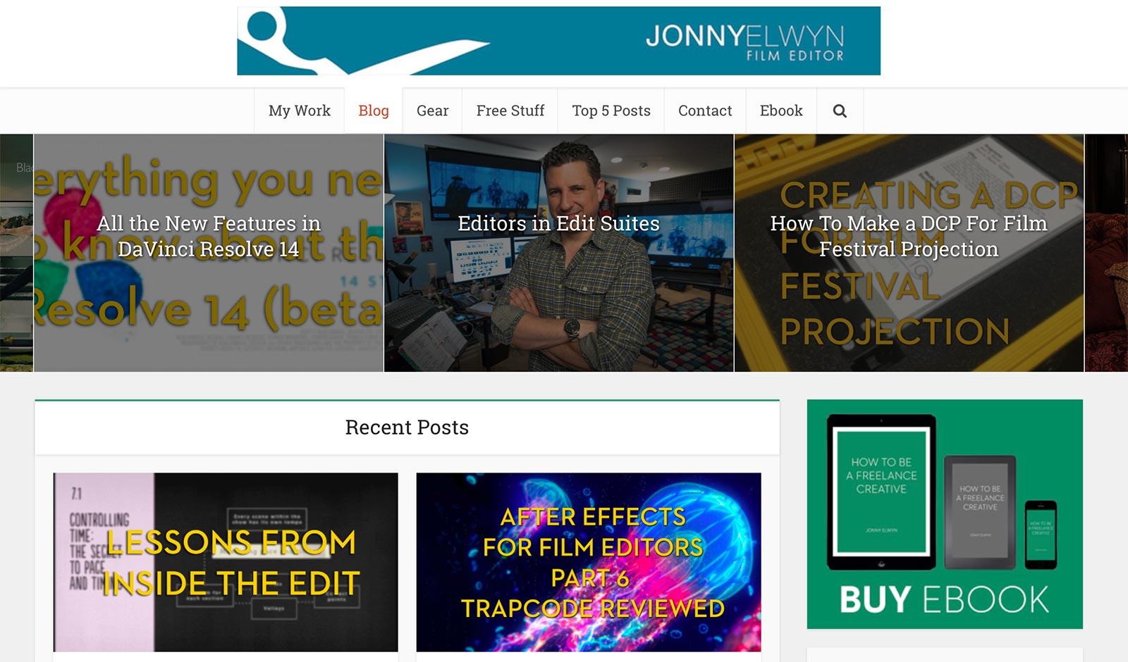 jonny elwyn website