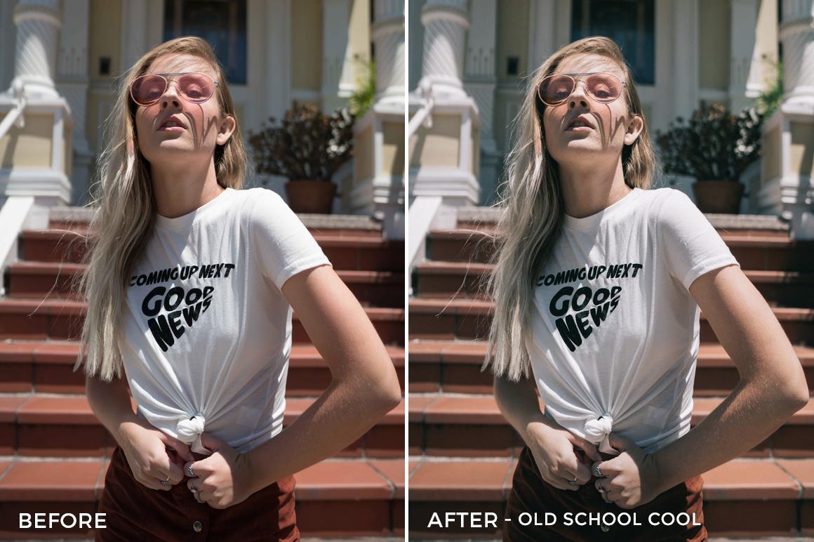 Old School Cool - Sean Dalton Classic Portrait Preset Pack - FilterGrade