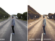 Good All Rounder - Tom Noske Lightroom Presets - FilterGrade